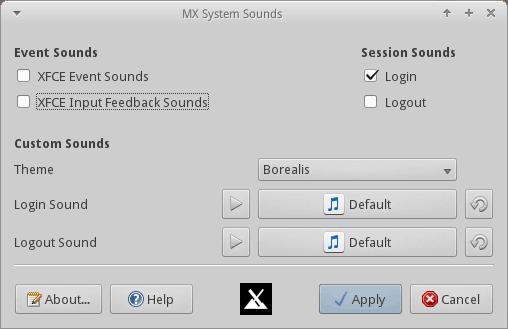 System Sounds