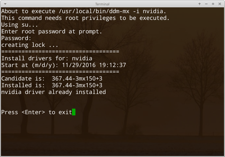 HELP: AMD/ATI and Nvidia installers – MX Linux