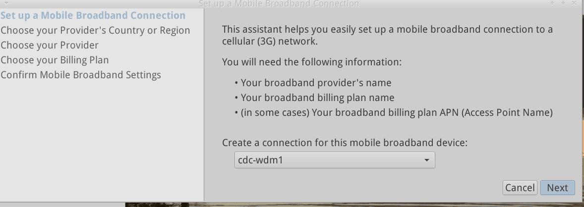 Enable mobile broadband – MX Linux